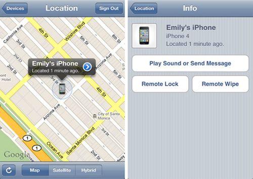 Find-iphone-app